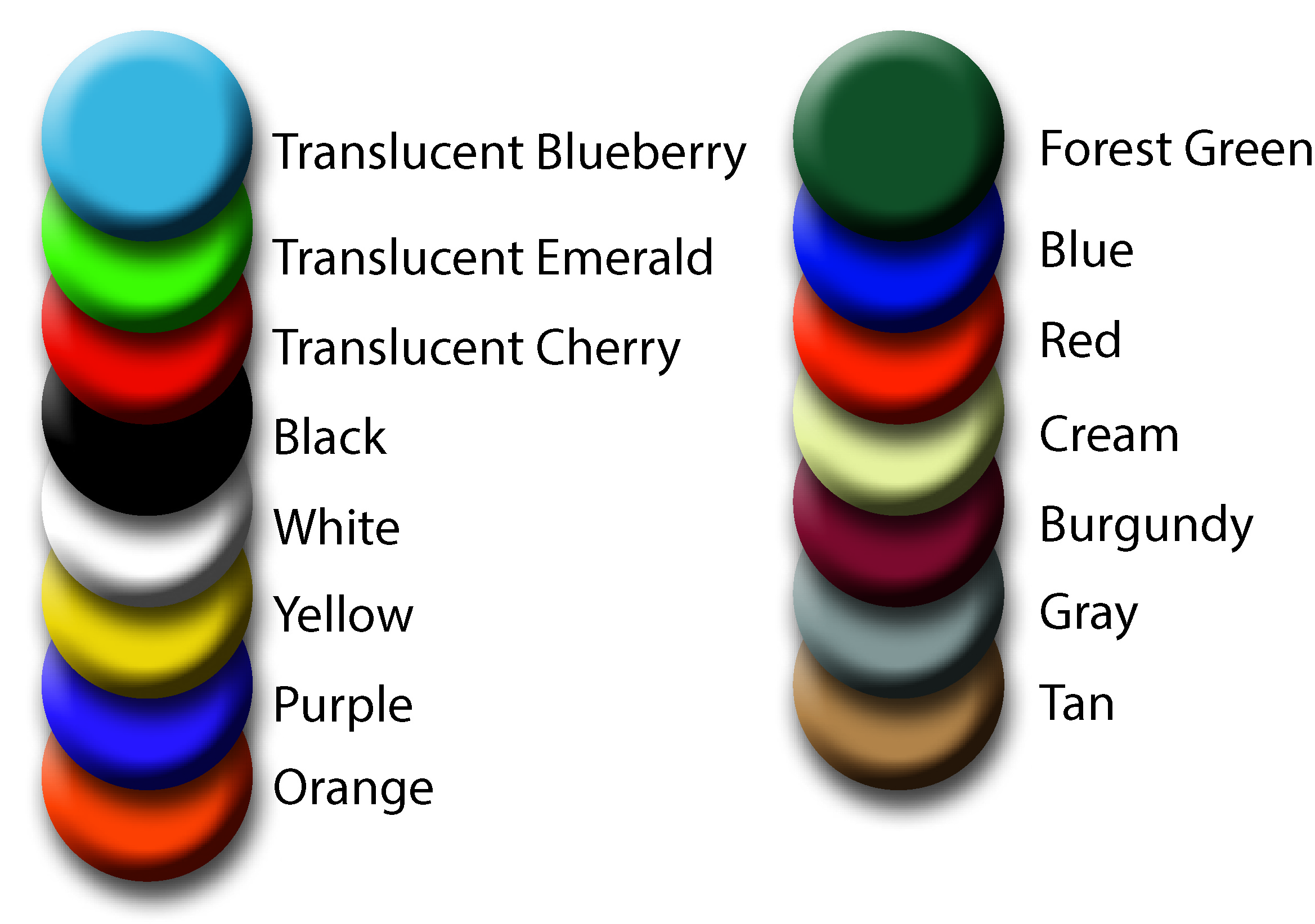 how to choose haircut key fobs aftermarket specialties 4910 | 4910 Color Chart