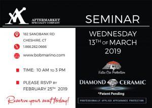 Diamond Ceramic Seminar 2019